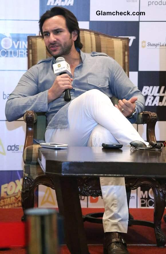 Saif Ali Khan Promotes Bullett Raja