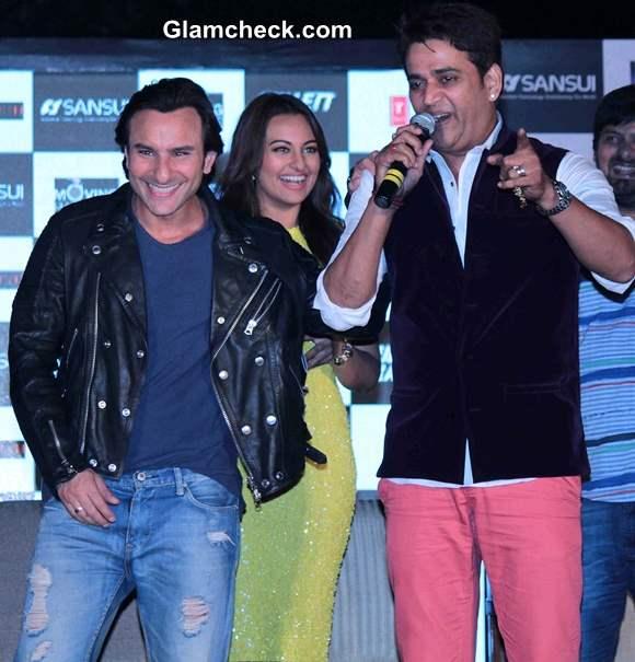 Saif Ali Khan, Sonakshi Sinha and Ravi Kishan