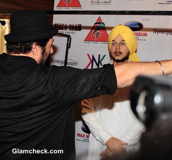 Shahid Bhagat Singh Wax Statue