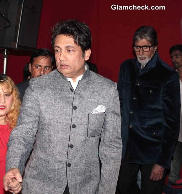 Shekhar Suman and Amitabh Bachchan at Heartless Trailer Release