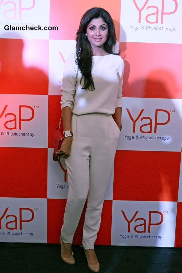 Shilpa Shetty Wows In All White Look At Yap Launch