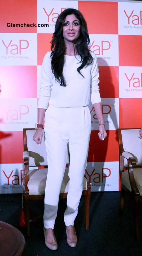 Shilpa Shetty Wows In All-White Look At Yap Launch-1008