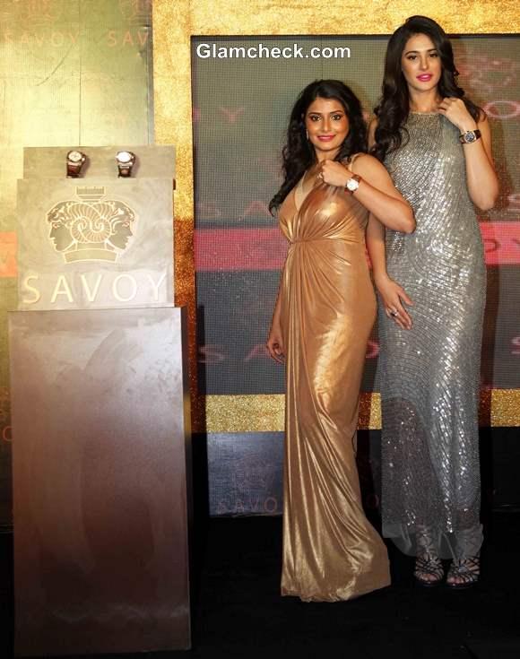 Silky Kothari Mehta with Nagris Fakhri