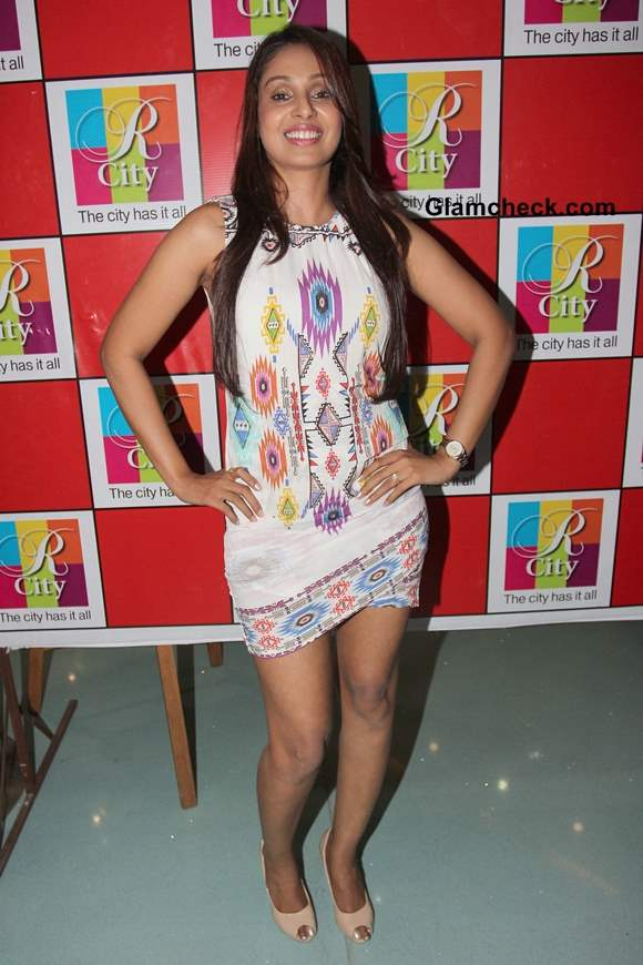 Simran Khan at Singh Saab the Great Music Launch Pictures