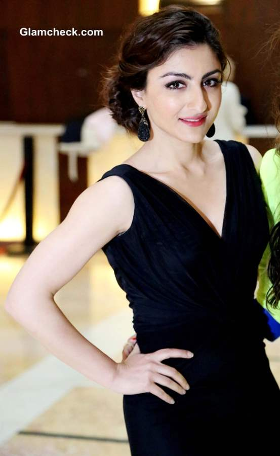 Soha Ali Khan Pictures at Glamour 2013 inauguration