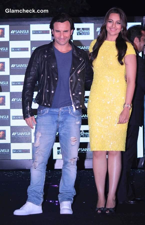 Sonakshi Sinha and Saif Ali Khan in Bullet Raja Movie