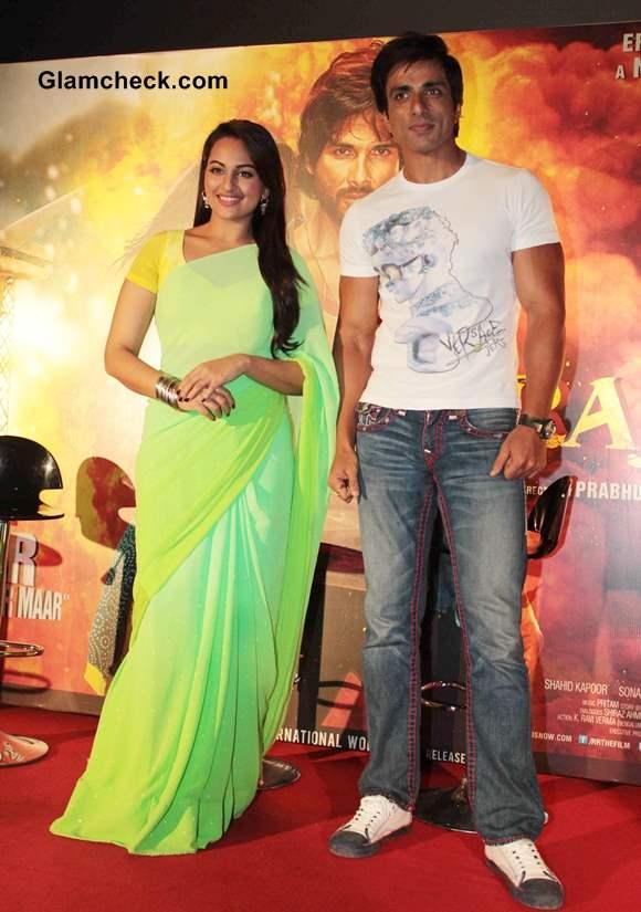 Sonakshi Sinha and Sonu Sood Promote R Rajkumar