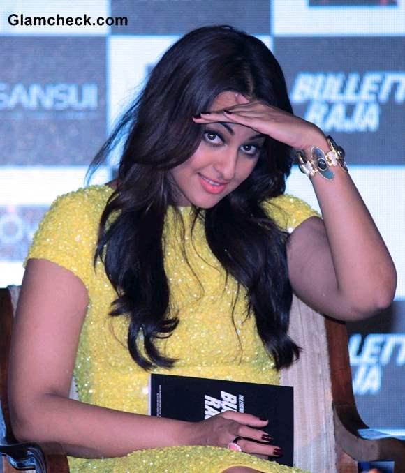 Sonakshi Sinha at Bullet Raja Movie Music Launch