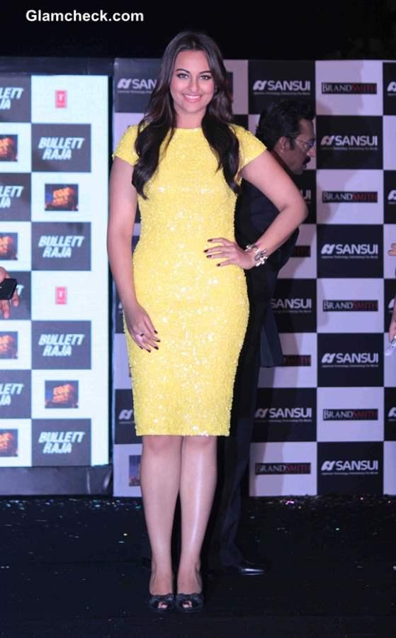 Sonakshi Sinha at Bullet Raja Music Launch