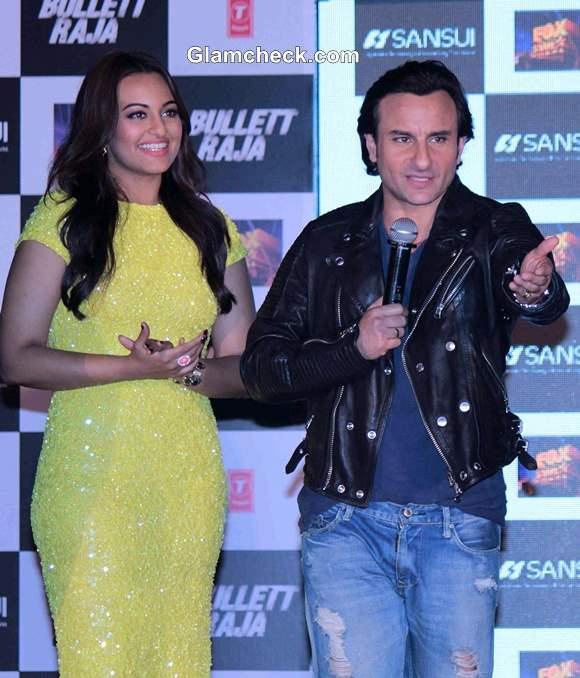 Sonakshi and Saif in Bullet Raja Movie