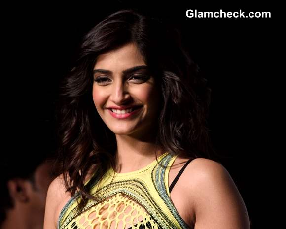 Sonam Kapoor Pictures at Mark Fast SIFW 2013
