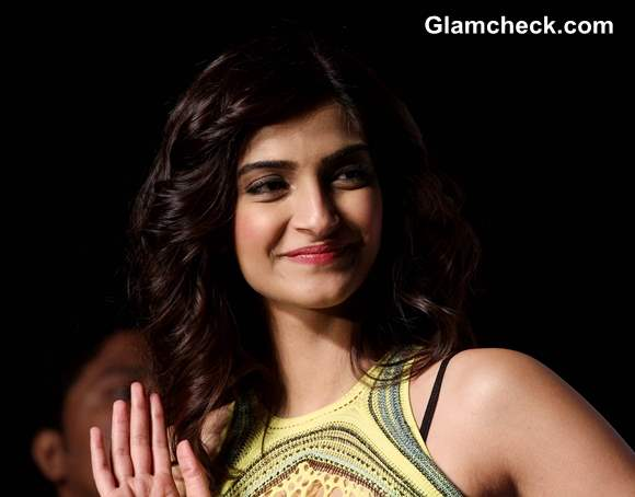 Sonam Kapoor Pictures at Mark Fast show SIFW 2013