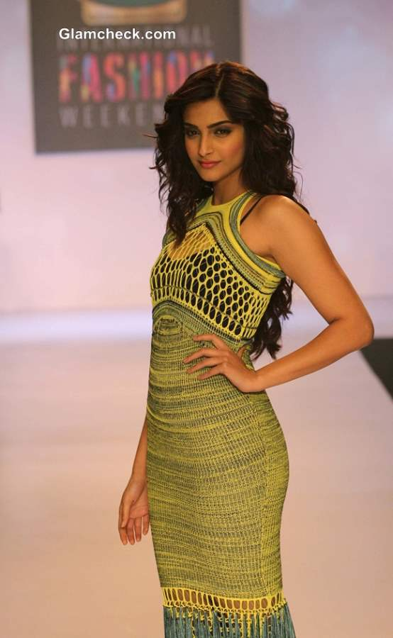 Sonam Kapoor for Mark Fast at SIFW 2013  Day 1