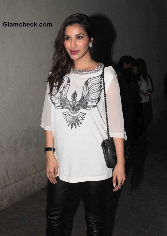 Sophie Choudry at Screening of Gori Tere Pyaar Mein
