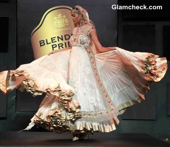 Suneet Varma lehenga collection at 2013 Blenders Pride Fashion Tour