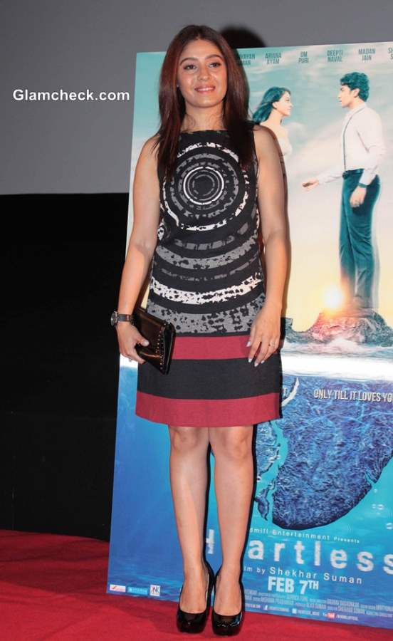 Sunidhi Chauhan at movie Heartless Trailer Release