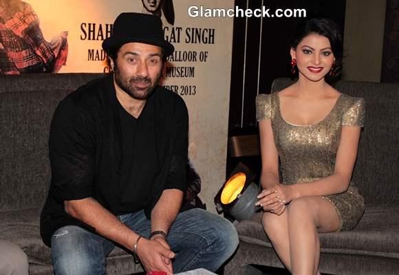 Sunny Deol and Urvashi Rautela