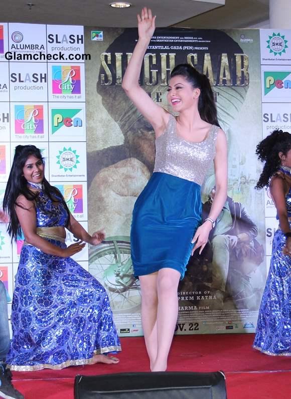 Urvashi Rautela 2013 Singh Saab the Great Music Launch