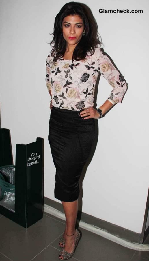 VJ Archana Vijaya at New Marks and Spencer Store Launch in Mumbai