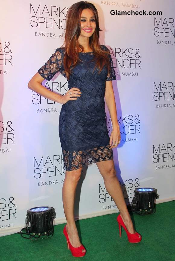 Celebs At New Marks And Spencer Store Launch In Mumbai