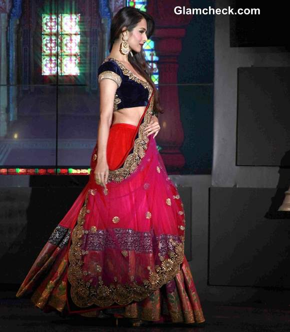 Vikram Phadnis Collection at Blenders Pride Fashion Tour 2013