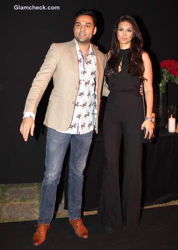 Abhay Deol along with Preeti Desai