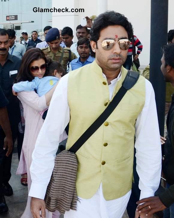 Abhishek Bachchan Airport Style