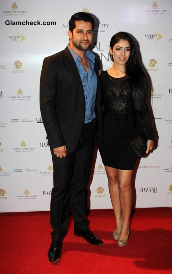Aftab Shivdasani and his girlfriend Nin Dusanj 2013