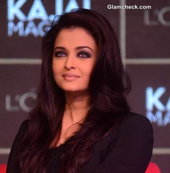 Aishwarya Rai 2013 LOreal Kajal Magique Launch
