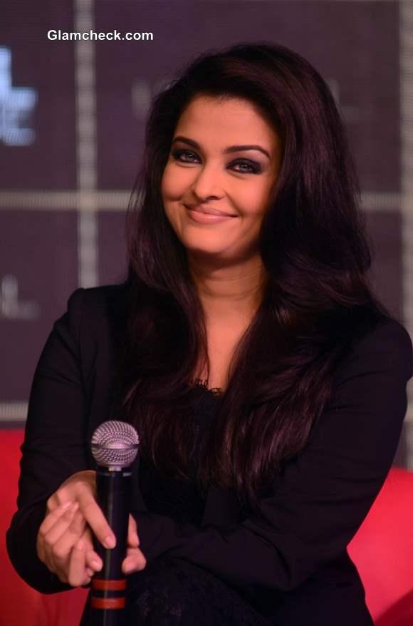 Aishwarya Rai 2013 at LOreal Kajal Magique Launch