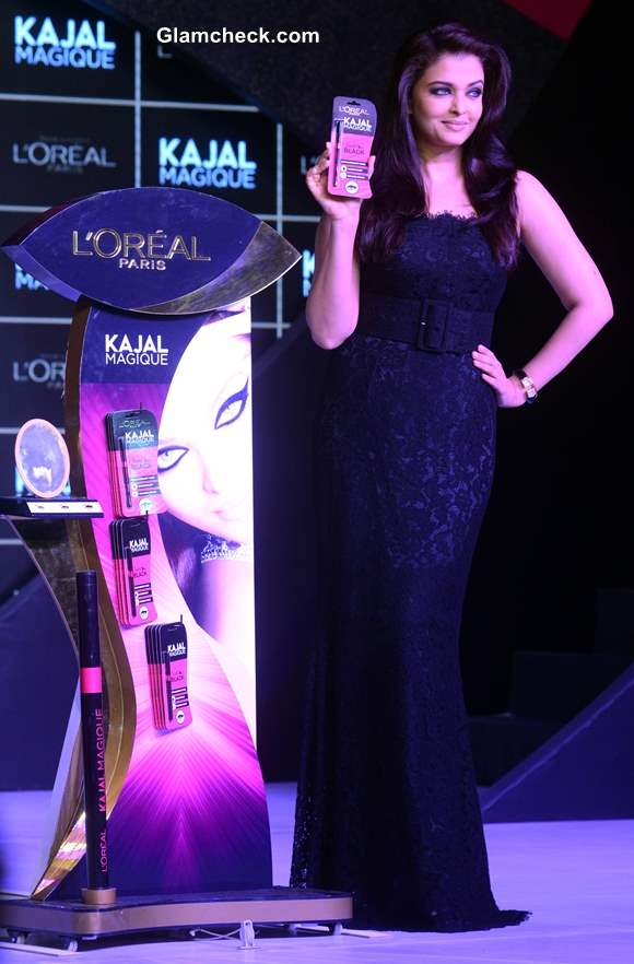 Aishwarya Rai Bachchan Launches LOreal Kajal Magique