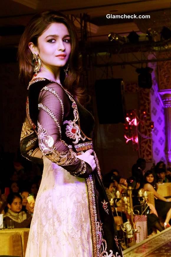 Alia Bhatt 2013 Khwaab Bridal Couture