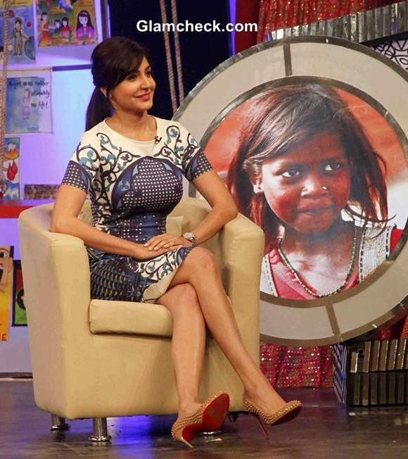 Anushka Sharma 2013 for NDTV and Vedantas Our Girl Our Pride Campaign