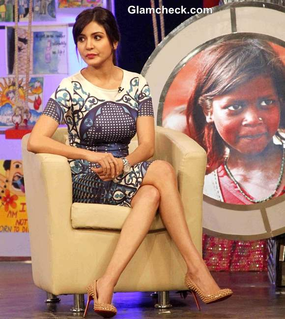 Anushka Sharma for NDTV and Vedantas Our Girl Our Pride Campaign