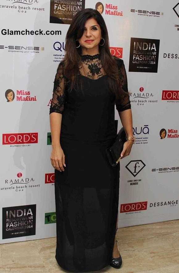 Babita Malkani at the unveiling of Resort wear 2014 Fashion Calendar