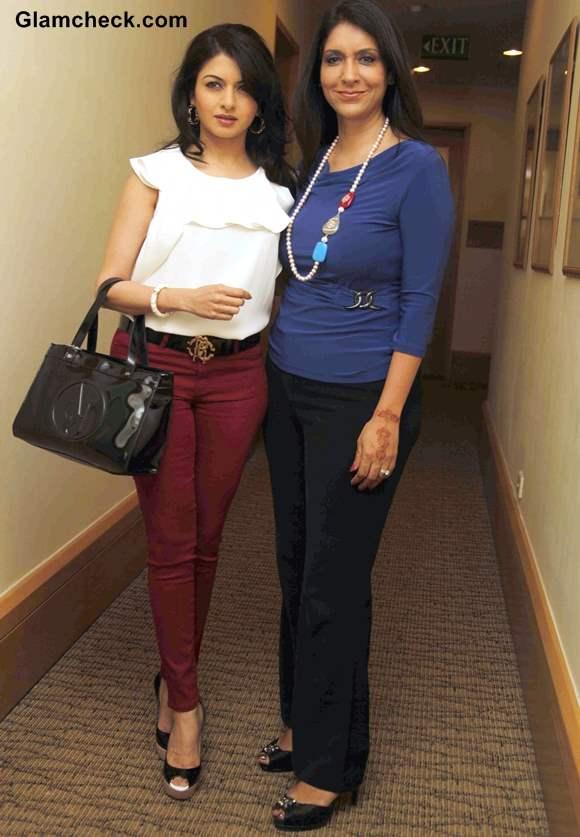 Bhagyashree and Kavita Raha