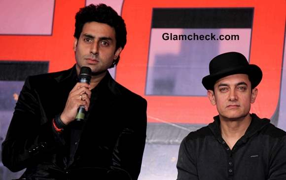 Cast of Dhoom 3 at Mumbai Press Conference Ahead of Premiere