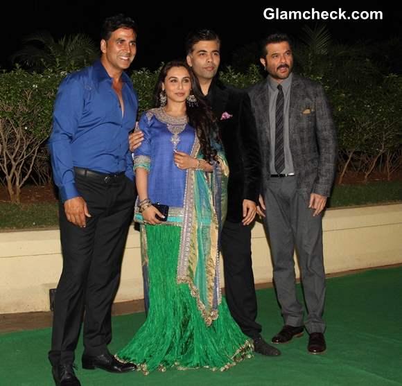 Celebs at Vishesh Bhatt wedding reception