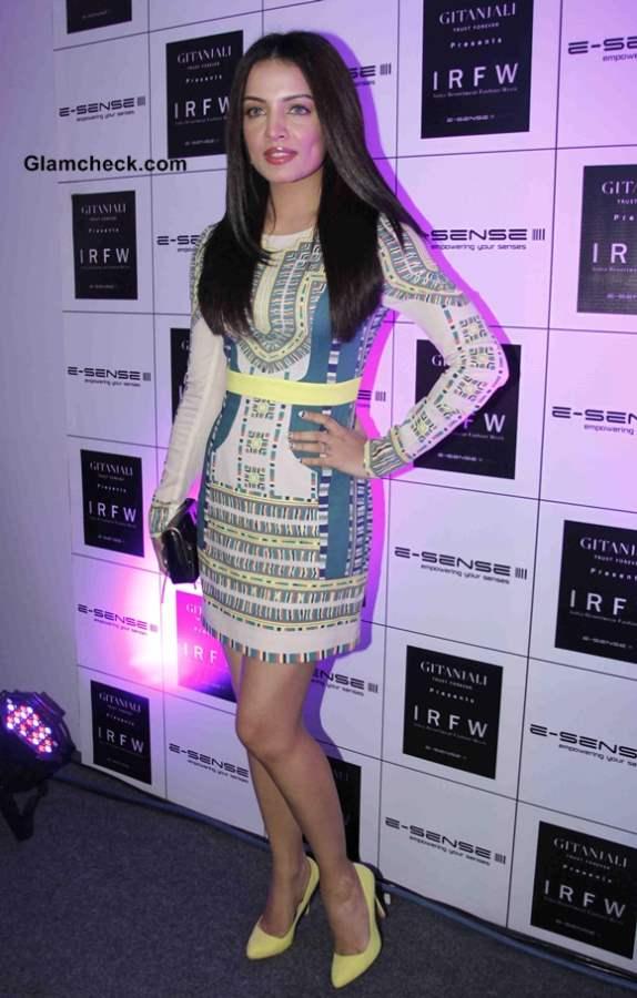 Celina Jaitly at India Resortwear Fashion Week 2013 - Day 1