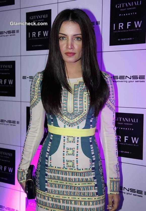 Celina Jaitly at India Resortwear Fashion Week 2013