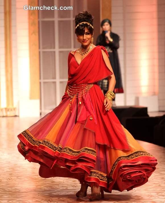 Chitrangada Singh Azva Jewellery IBFW 2013 Mumbai