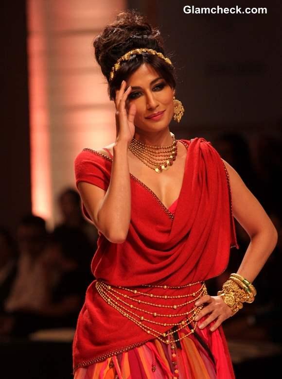 Chitrangada Singh for Azva Jewellery Amby Valley IBFW 2013 Mumbai