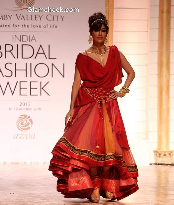 Chitrangada Singh for Azva Jewellery IBFW 2013 Mumbai