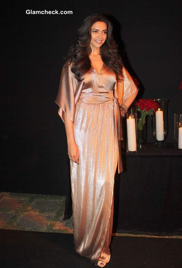 Deepika Padukone at her success party 2013 Pictures