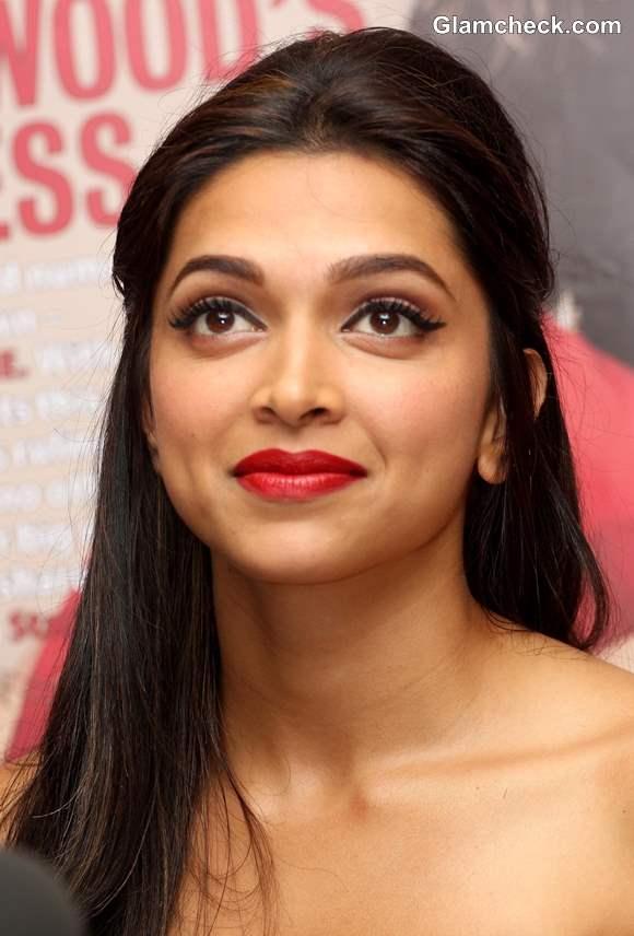 Deepika Padukone makeup 2013