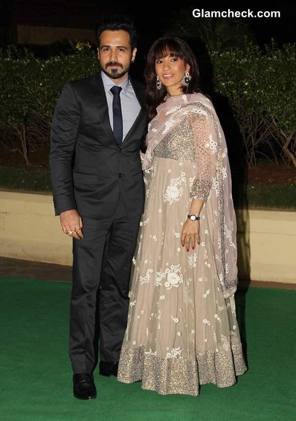 Emraan Hashmi with wife Parveen