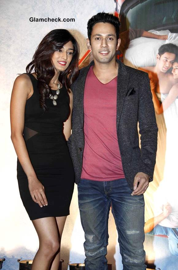 Erica Fernandes and Sahil Anand