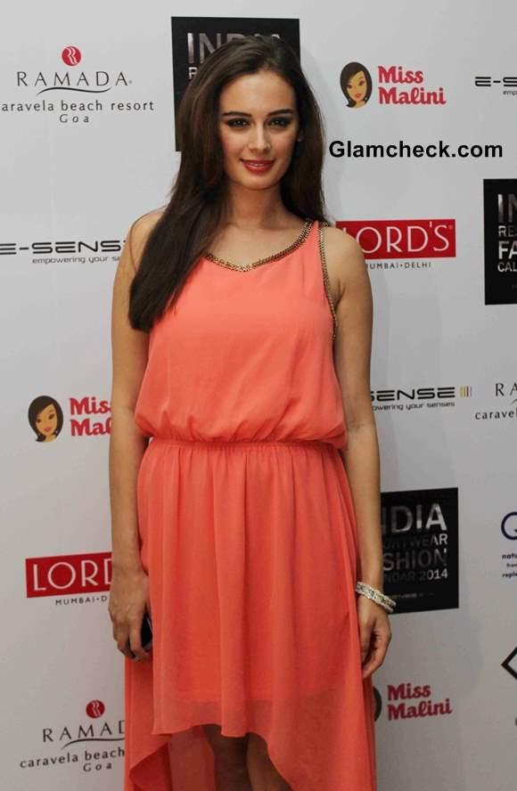Evelyn Sharma at unveiling of Resort wear 2014 Fashion Calendar