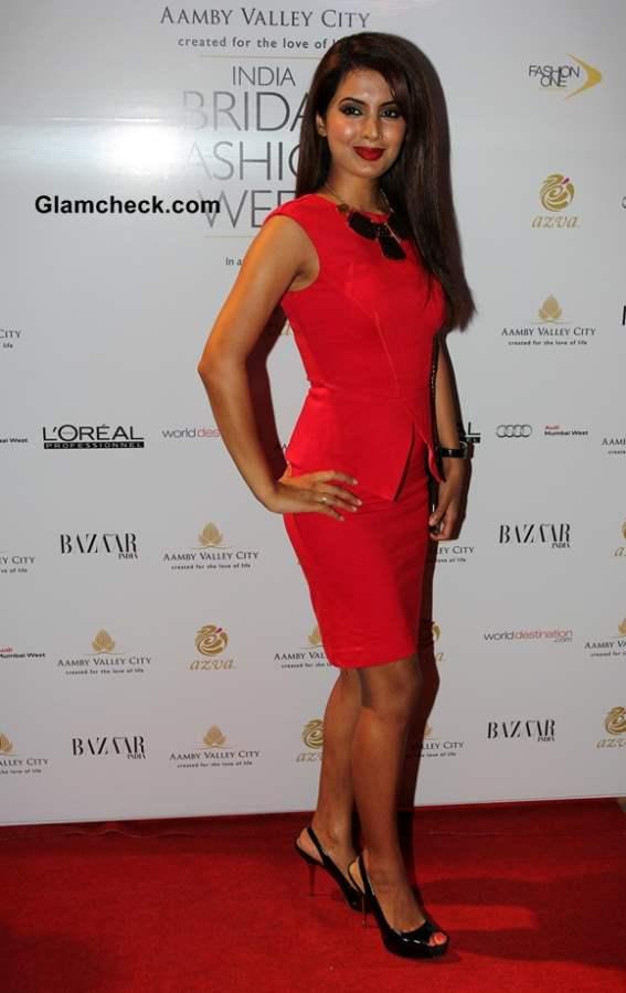 Geeta Basra at India Bridal Fashion Week 2013 Day 6