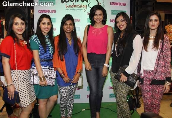 Gul Panag Launches Pantaloons Womens Wednesday at Phoenix Mills